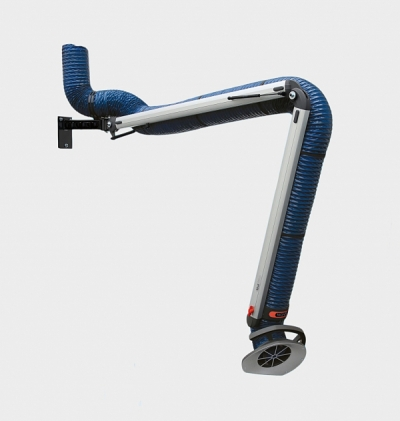 Articulated PR Extraction Hoses and Welding Arms